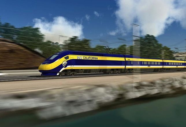credit: California High-Speed Rail Authority (image in public domain)