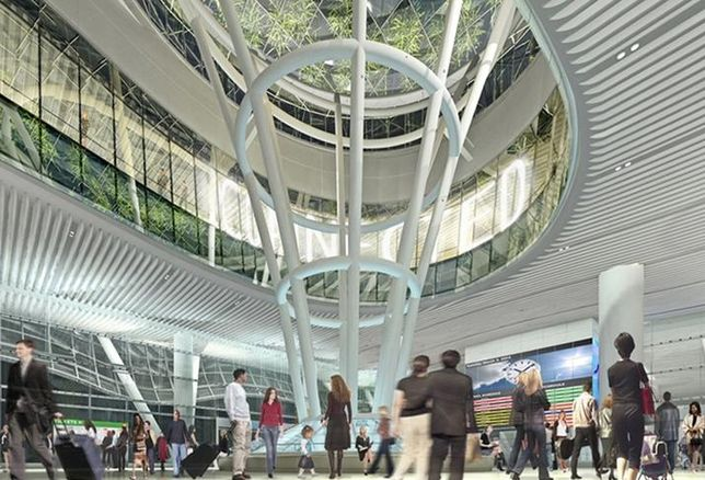 San Francisco's Transbay Transit Center credit: Joint Transit Authority
