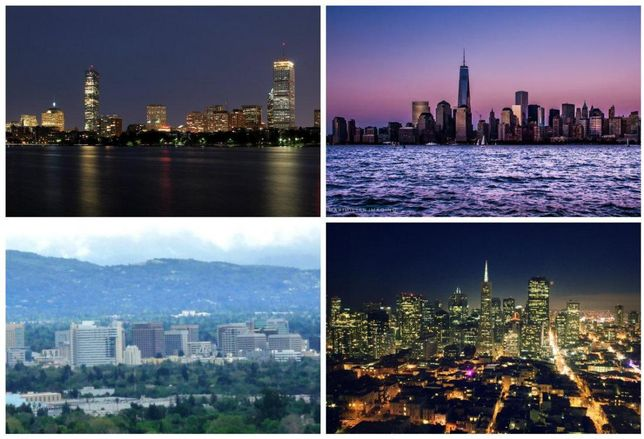 Ten-X: The Hottest Office Markets Will Be On The Coasts