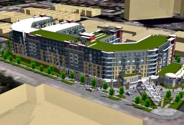 Site Of Failed O'Hare Apartment Development In Foreclosure