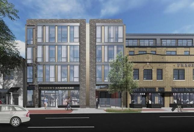 Rendering Reveal: Perseus' Plans For Frager's Hardware Redevelopment