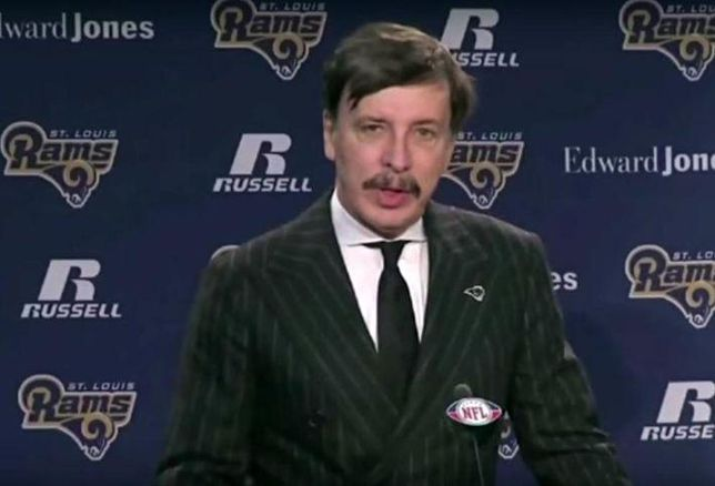 Bisnow Player Of The Month: Rams Owner Stan Kroenke