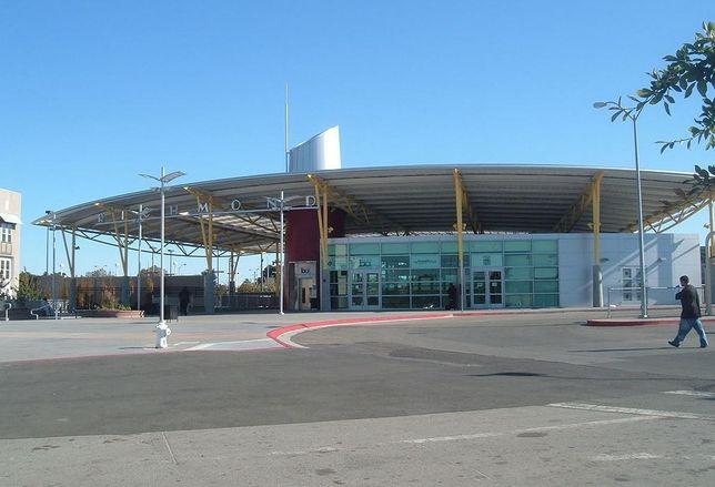 Richmond Transit Center image in the public domain credit: Coro