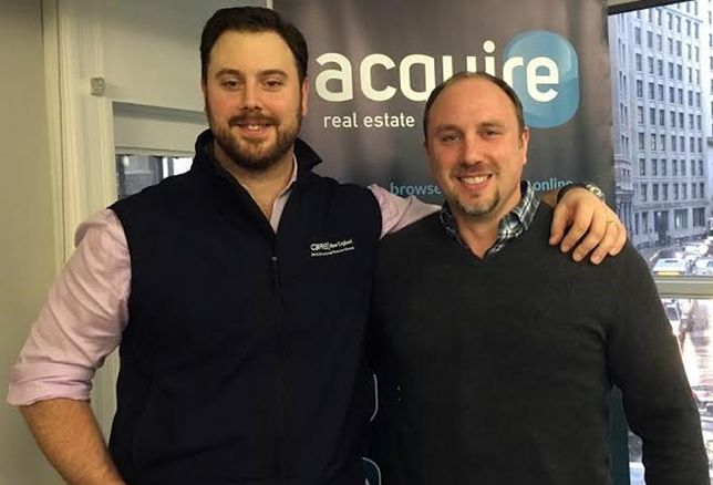 Acquire Real Estate co-founders Josh Klimkiewicz (president) and Gerry Polucci (chief tech officer) Courtesy of Acquire Real Estate