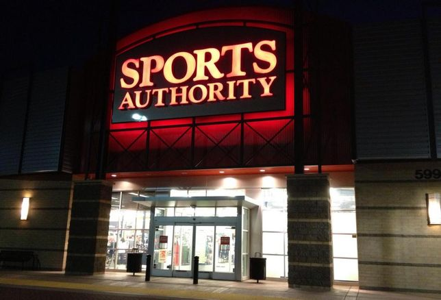 Dick's Sporting Goods Bids On 17 Sports Authority Stores