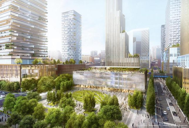 Details Emerge For $3.5B Schuylkill Yards Project
