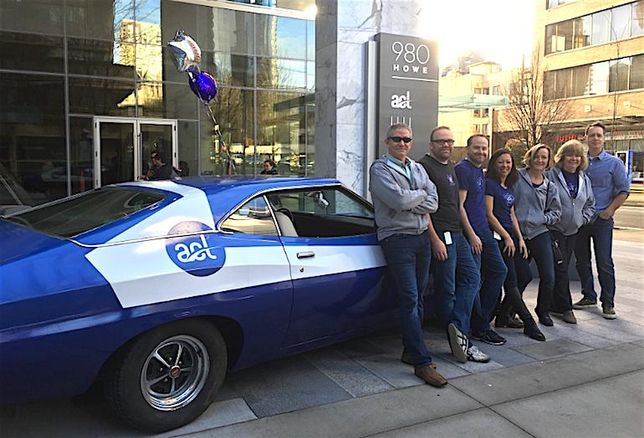 ACL Moves To 980 Howe, Unveils Hot Company Car