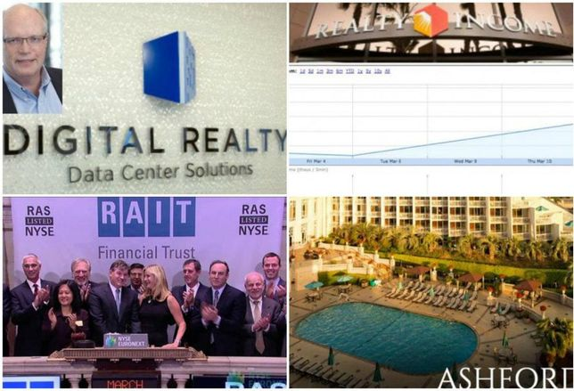 Last Week's REIT Winners And Losers