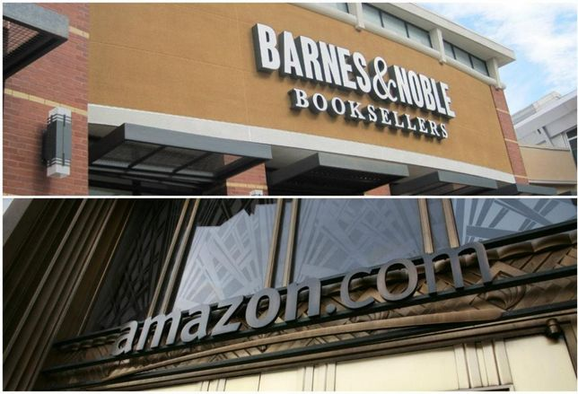 Barnes & Noble Not Scared Of Amazon's Brick-And-Mortar Push