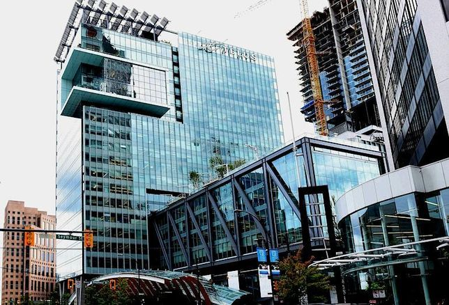 TELUS Garden Office Tower Awarded LEED Platinum