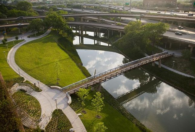 Huge Mixed-Use Coming Along Buffalo Bayou Park
