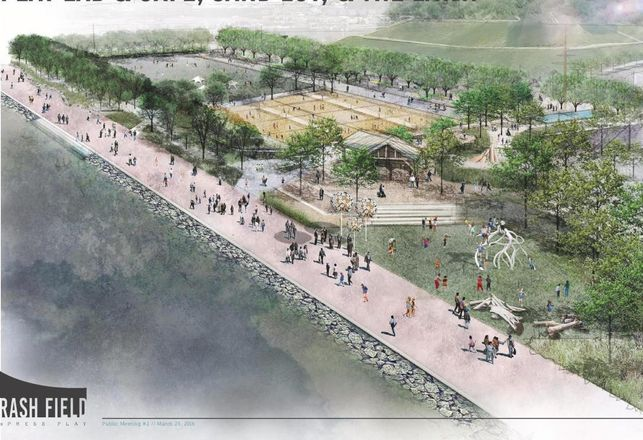 New Plan For Rash Field Includes Space For Soccer Games And Bocce Ball