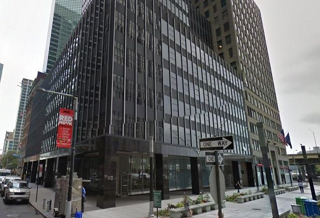 110 Wall St., the building that houses the first WeLive