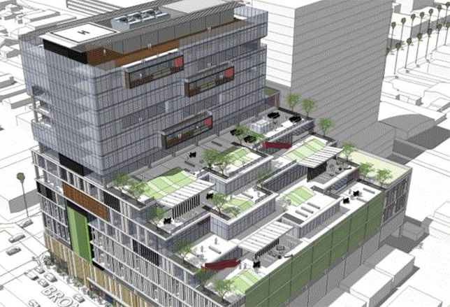 New Plan For Hollywood High-Rise