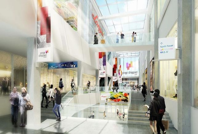 RioCan Commences With Revamp Of Yonge Sheppard Centre