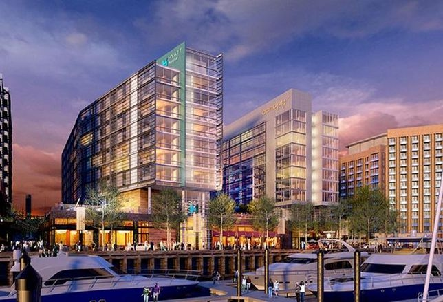 Wharf Secures $113M Financing To Develop Dual-Flag Hotel