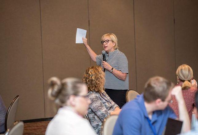 Donna Preiss Talks Demand