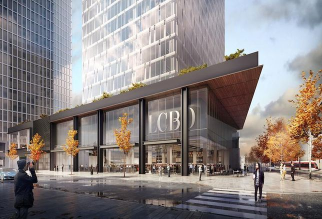 Menkes' LCBO Lands Redevelopment Will Extend South Core East
