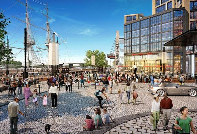 'Surprises, Conflicts, Competitions.' How 12 Architects Are Designing The Wharf