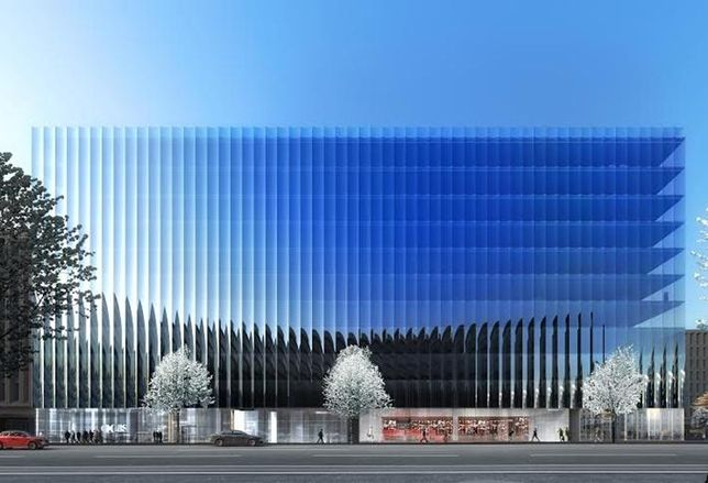 Rendering Reveal: Tishman Speyer's Trophy Office Building At 21st And M