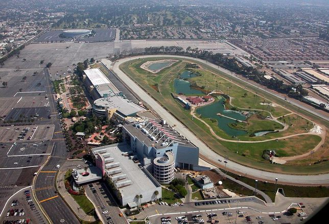 Hollywood Park, the former racetrack that will be redeveloped by Wilson Meany and Stockbridge Capital