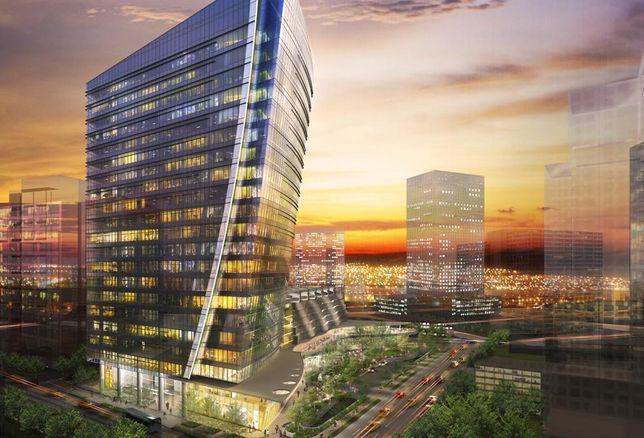 Crescent Real Estate's Uptown development, McKinney & Olive