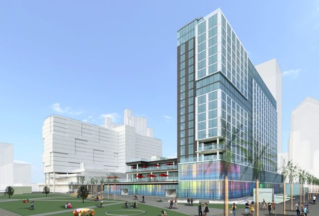400-Room InterContinental Hotel Rising Near Downtown Waterfront