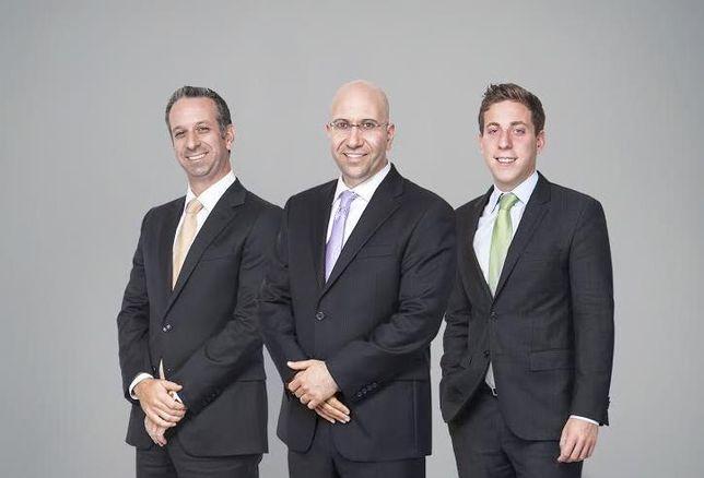 Ariel president  Shimon Shkury (center) alongside VP Jesse Deutch (right) and VP, Howard Raber.