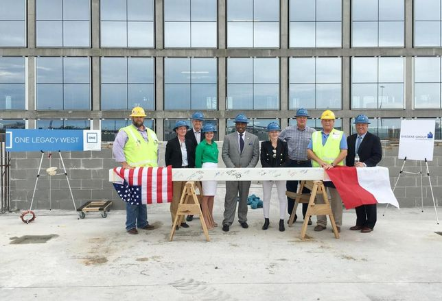 One Legacy West Topping Out
