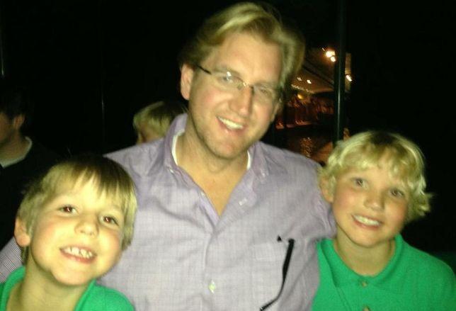 Rosebriar's managing director Ryan Stewart with his sons