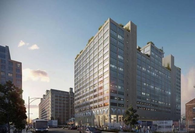 The Brooklyn Navy Yard's Building 77.