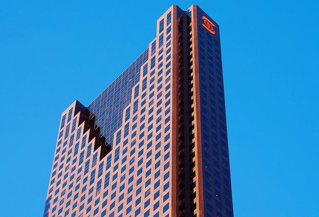 Scotia Plaza in Toronto, the second-tallest office tower in Canada.