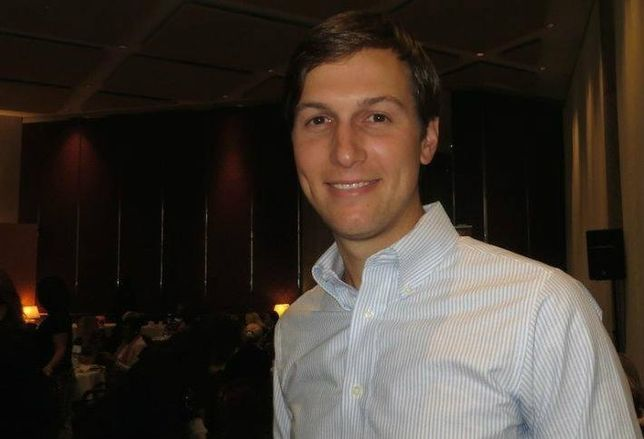 Jared Kushner, CEO of the Kushner Cos.