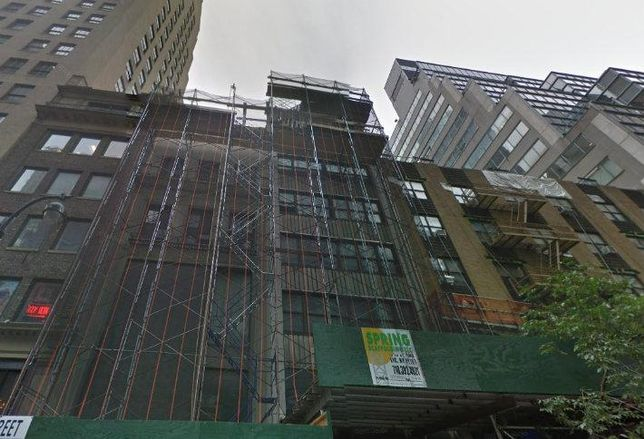 Hidrock Realty Inc. is building a new hotel at 12-14 East 48th Street.