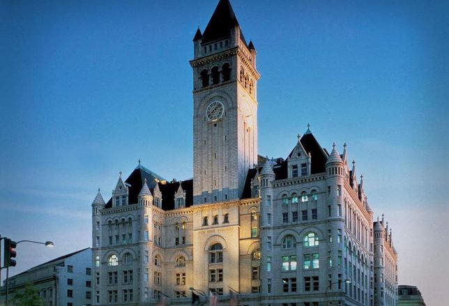 Old Post office Trump hotel DC