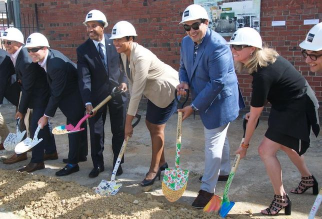Union Market Groundbreaking EDENS Jodie McLean Mayor Muriel Bowser Chef Jose Garces