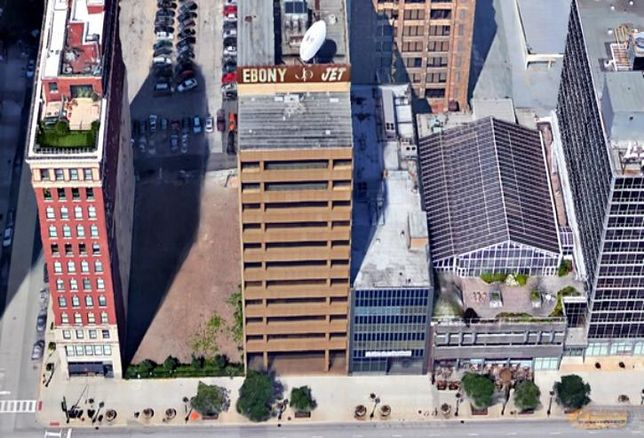 Columbia College Chicago bought the Johnson Publishing building at 820 S Michigan Ave for $8M in 2010. It's been vacant since.