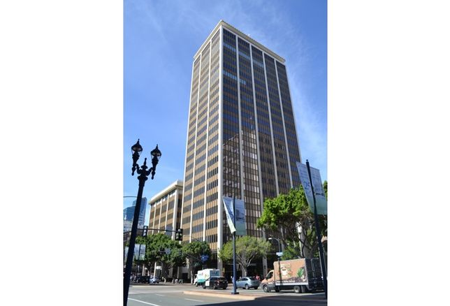 This office complex at 1010 Second Ave. includes two office towers with a total of 334k SF.