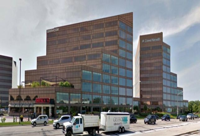 Mid America Plaza in Oak Brook is selling for $80M