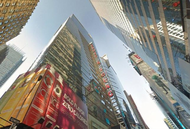 EY's HQ at 5 Times Square.