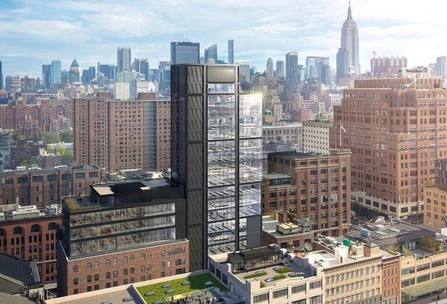 Rendering of 412 West 15th St. in Manhattan's Meatpacking District