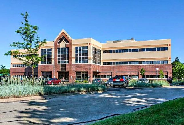 A medical office building in Naperville, IL