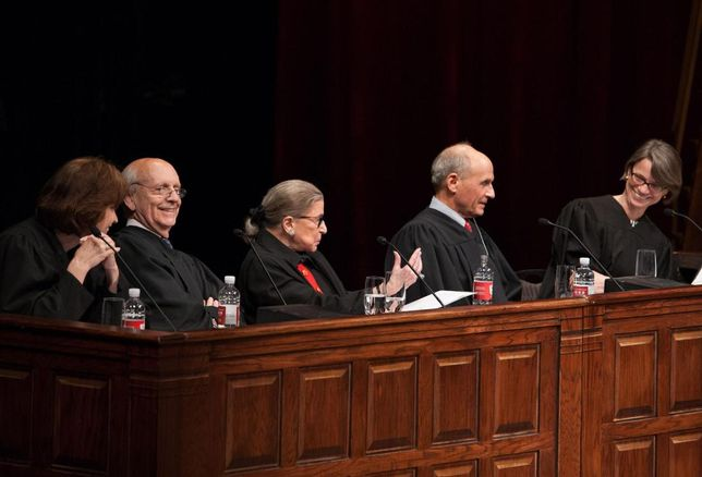Ginsburg Presides Over Mock Trial Of 1984
