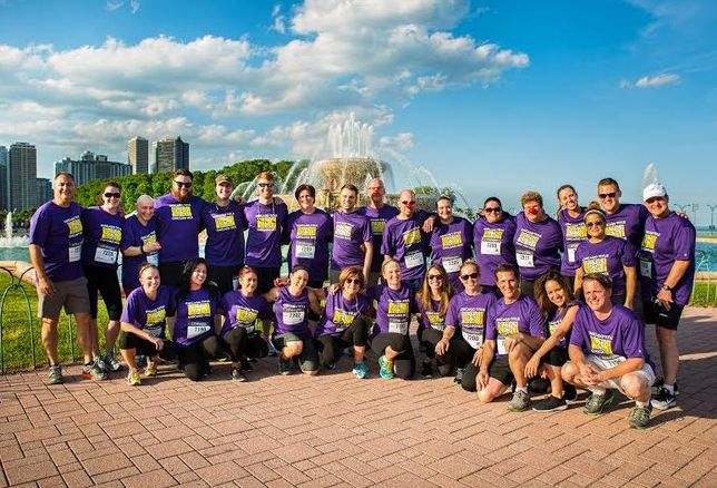 Chicago Title team took part in the 2016 JPMCC