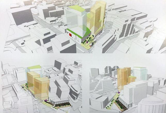 Carr Properties Apex Building development rendering Bethesda Wisconsin Avenue
