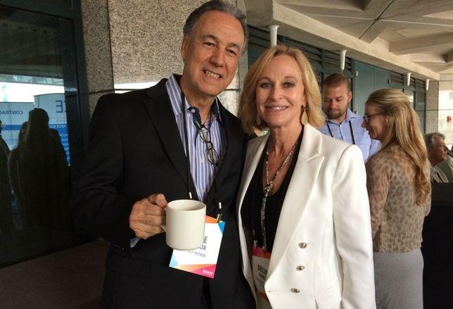 Pete Garcia and DeLinda Forsythe