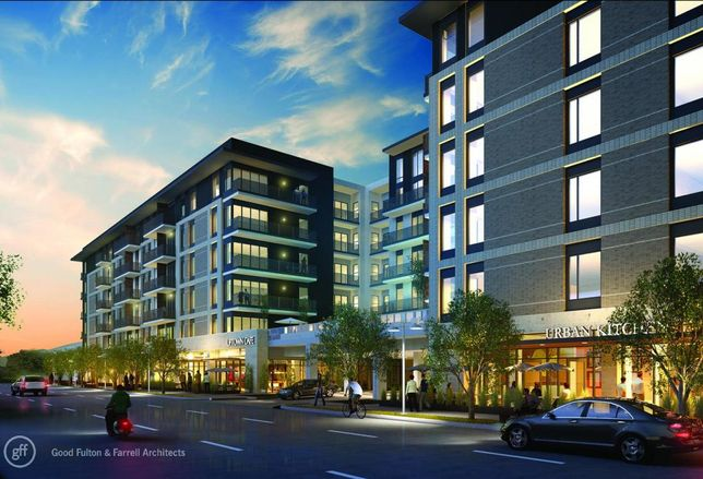 Knox Heights has officially topped out. The 6-story, Class A mixed-use project features 182 luxury residential units with ground floor retail along McKinney Avenue a half block north of Knox Street.