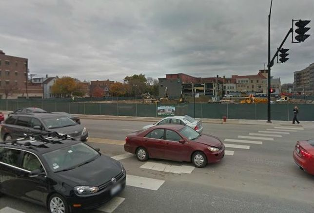 The site of Whole Foods Chicago flagship store at 3201 N Ashland Ave.