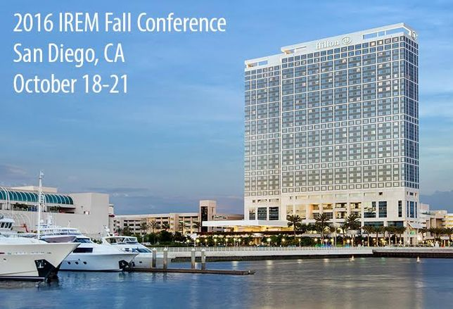 San Diego IREM Fall Conference