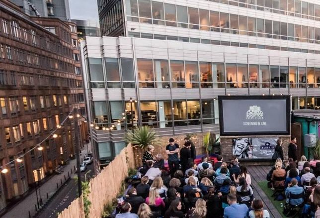 Queen of Hoxton hosting Rooftop Film Club